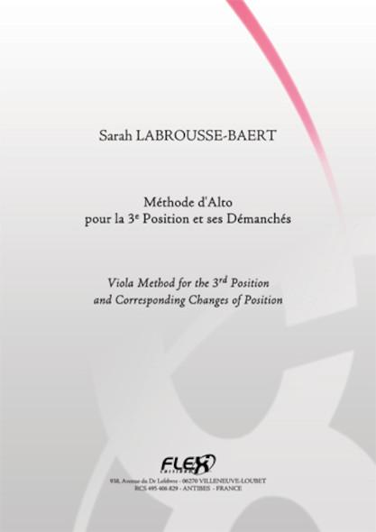 METHODE Méthode d'Alto pour la 3e Position et ses Démanchés S. LABROUSSE-BAERT Alto Solo