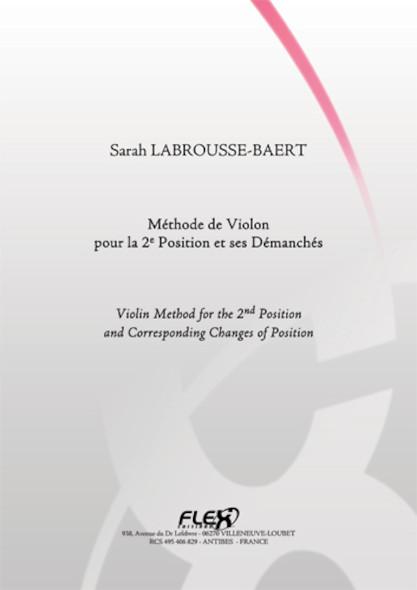 METHODE Méthode de Violon pour la 2e Position et ses Démanchés S. LABROUSSE-BAERT Violon Solo