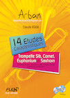 14 Etudes Caractéristiques ARBAN avec CDs d'accompagnement C. EGEA Trompette Solo