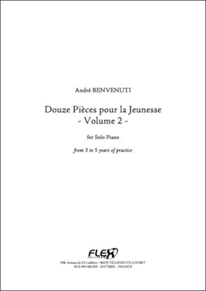 12 Pieces pour la Jeunesse Volume 2 A. BENVENUTI Piano Solo