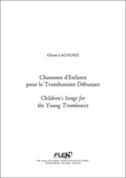 Chansons d'Enfants pour le Tromboniste Débutant TRADITIONNEL Trombone Solo