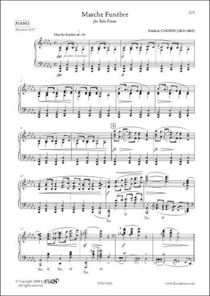 Marche Funèbre F. CHOPIN Piano Solo