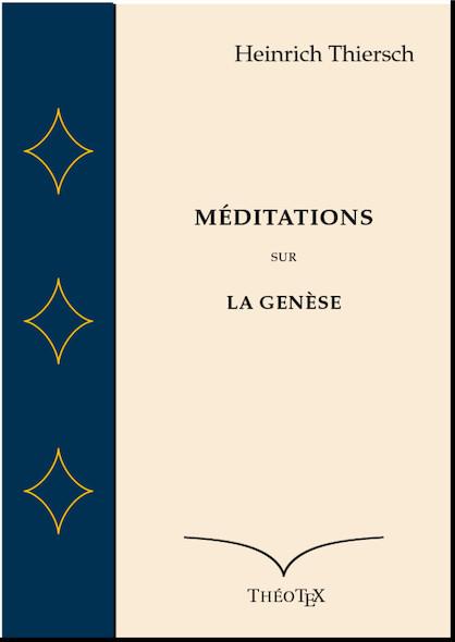 Méditations sur la Genèse