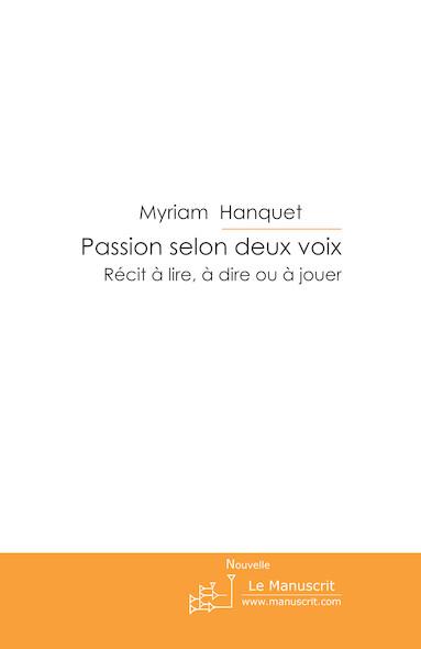 Passion selon deux voix