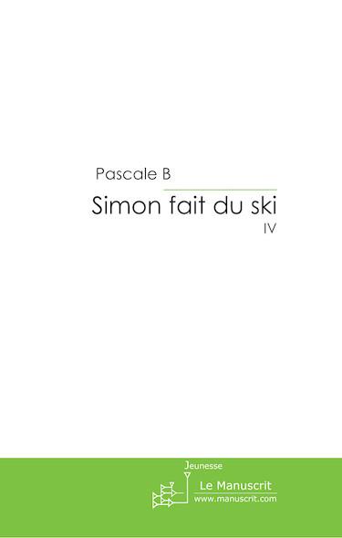 Simon fait du ski