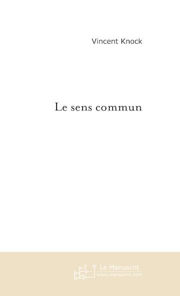 Le sens commun