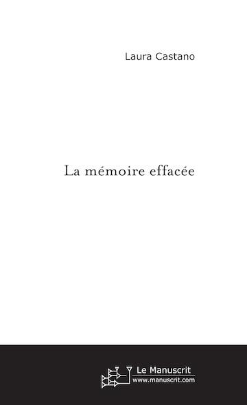 La mémoire effacée