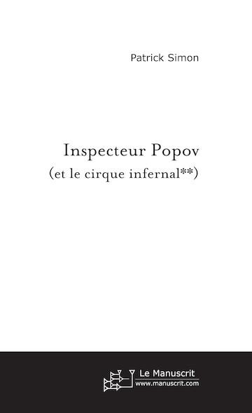 Inspecteur Popov (et le cirque infernal**)