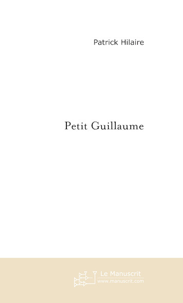 Petit Guillaume