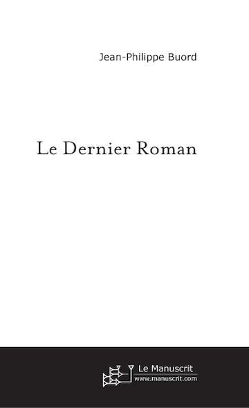 Le dernier roman