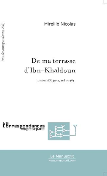 De ma terrasse d'Ibn-Khaldoun