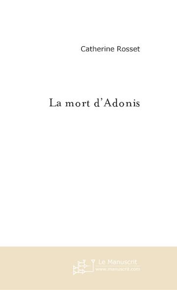 La mort d'Adonis
