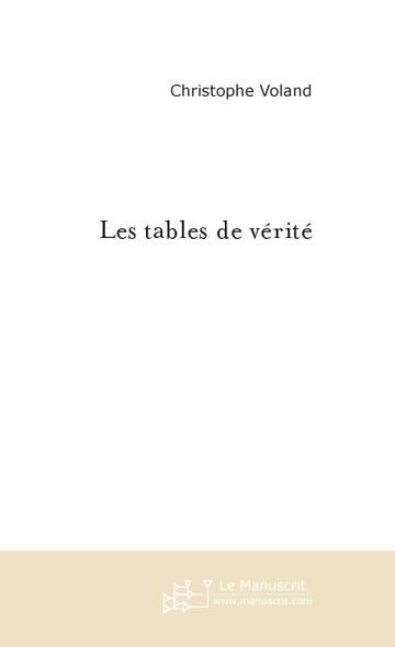 Les tables de vérité