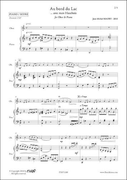 Au Bord du Lac - J.-M. MAURY - Hautbois & Piano