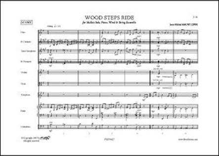 Wood Steps Ride - J.-M. MAURY - Claviers Solo, Piano, Cordes et Bois
