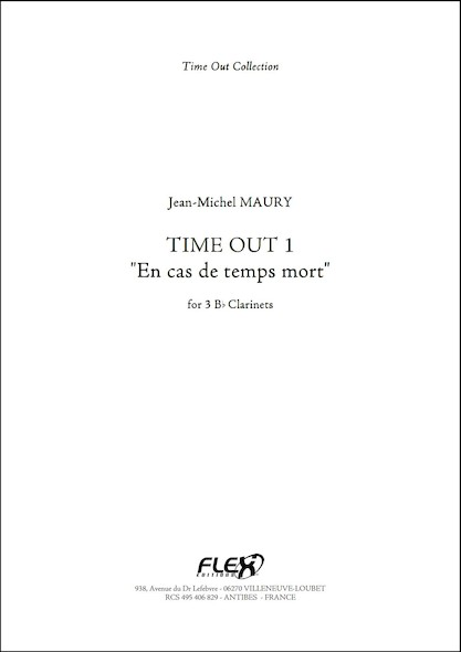 Time Out 1 - J.-M. MAURY - Trio à Cordes