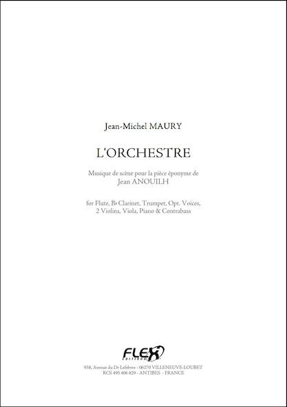 L'Orchestre - Intégrale - J.-M. MAURY - Flûte, Clarinette, Trompette, Piano et Quintette à Cordes