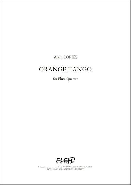 Orange Tango - A. LOPEZ - Quatuor de Flûtes