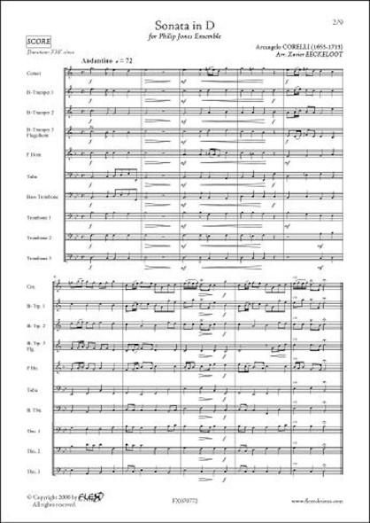 Sonate en Ré - A. CORELLI - Ensemble Philip Jones