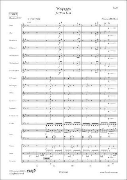 Voyages - N. JARRIGE - Orchestre d'Harmonie