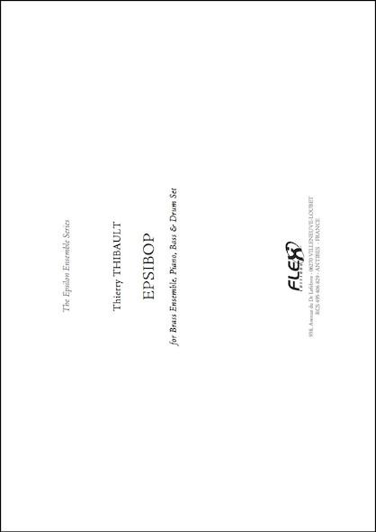 PARTITION JAZZ&BLUES - EPSIBOP - T. THIBAULT - Nonet de Jazz