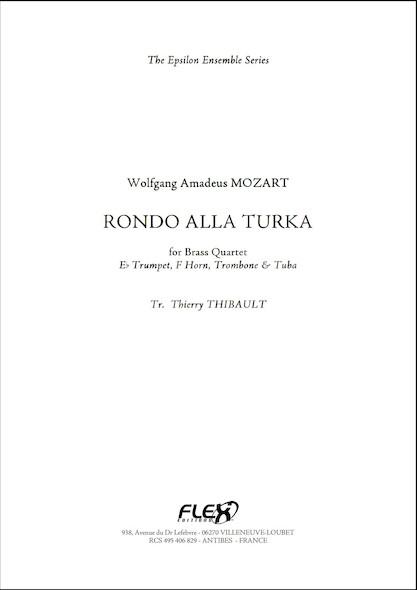 Rondo Alla Turka - W.A. MOZART - Quatuor de Cuivres