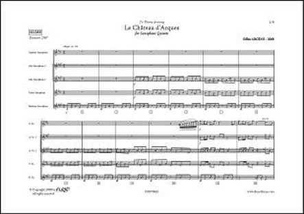 Le Château d'Arques - G. ARCENS - Quintette de Saxophones