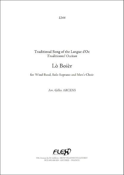 1244 - Lò Boièr - G. ARCENS - Orchestre d'Harmonie, Soprano Solo et Choeur d'Hommes