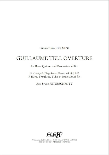Guillaume Tell - Ouverture - G. ROSSINI - Quintette de Cuivres et Percussions