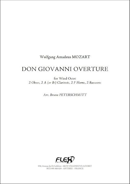 Don Giovanni Ouverture - W.A. MOZART - Octuor à Vent