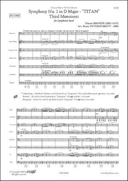 Symphonie No. 1 - Titan - 3e Mvt - G. MAHLER - Orchestre d'Harmonie
