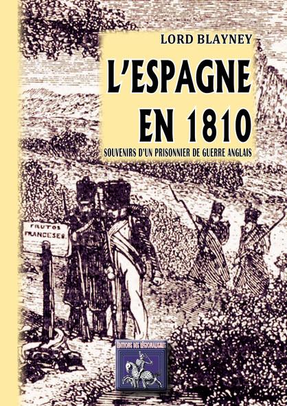 L'Espagne en 1810 : Souvenirs d'un prisonnier de guerre anglais