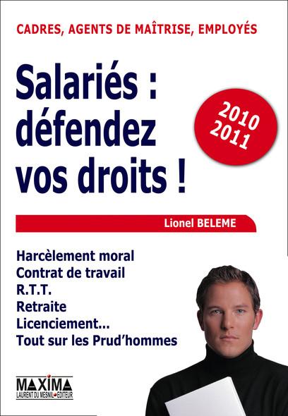 Salariés, défendez vos droits ! - 2010-2011