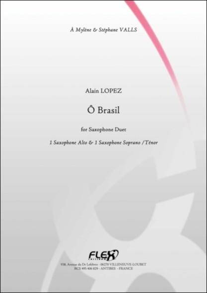 O Brasil - A. LOPEZ - Duo de Saxophones