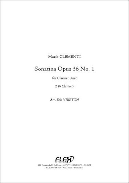 Sonatine Opus 36 No. 1 - M. CLEMENTI - Duo de Clarinettes