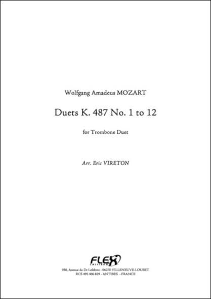 Duet K 487 - W. A. MOZART - Duo de Trombones