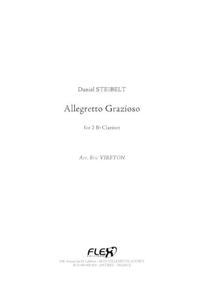 Allegretto Grazioso - D. STEIBELT - Duo de Clarinettes