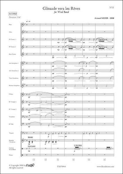 Glissade vers les Rêves - A. MEIER - Orchestre d'Harmonie Junior