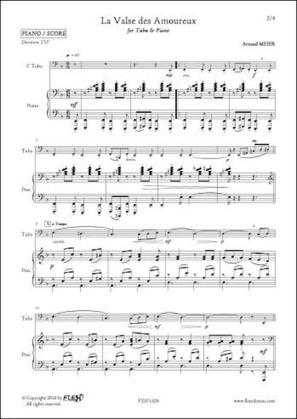La Valse des Amoureux - A. MEIER - Tuba et Piano