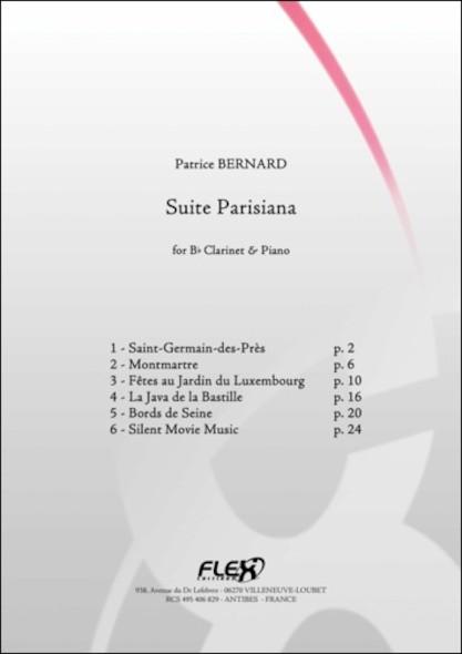 Suite Parisiana - P. BERNARD - Clarinette et Piano