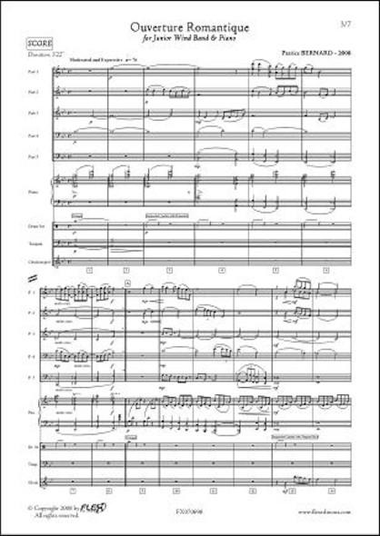 Ouverture Romantique - P. BERNARD - Orchestre d'Harmonie et Piano
