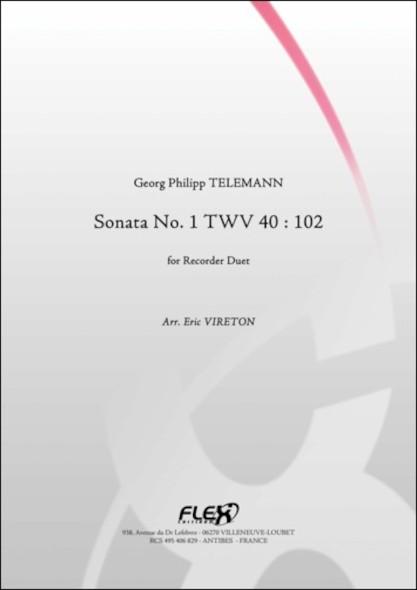 Sonate No. 1 TWV 40 : 102 - G. P. TELEMANN - Duo de Flûtes à Bec