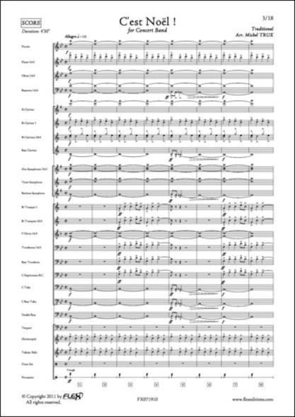 C'est Noël ! - Traditionnel - Orchestre d'Harmonie