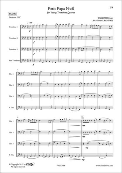 Petit Papa Noël - Traditionnel - Quatuor de Trombones