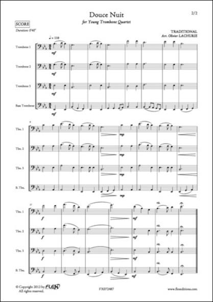 Douce Nuit - Traditionnel - Quatuor de Trombones