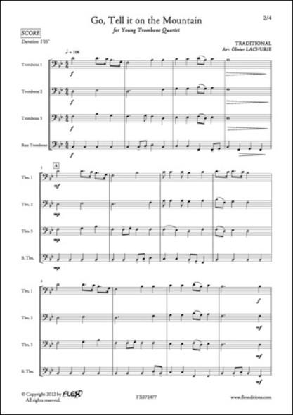 Go, Tell it on the Mountain - Traditionnel - Quatuor de Trombones
