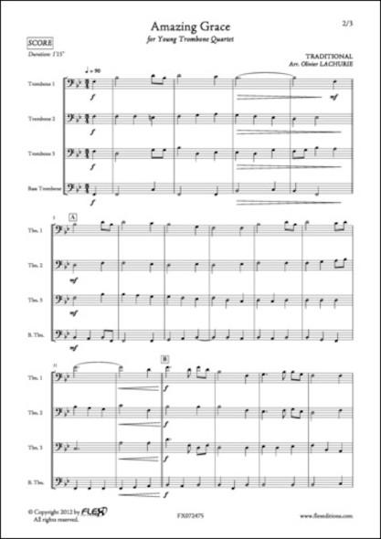 Amazing Grace - Traditionnel - Quatuor de Trombones