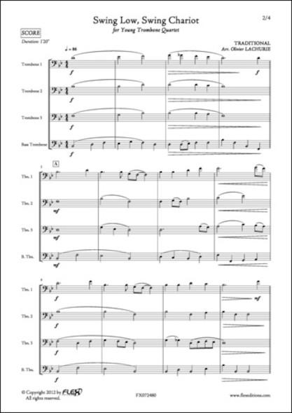 Swing Low, Sweet Chariot - Traditionnel - Quatuor de Trombones