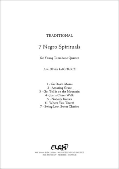 7 Negro Spirituals - Traditionnel - Quatuor de Trombones