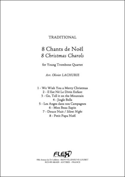 8 Chants de Noël - Traditionnel - Quatuor de Trombones